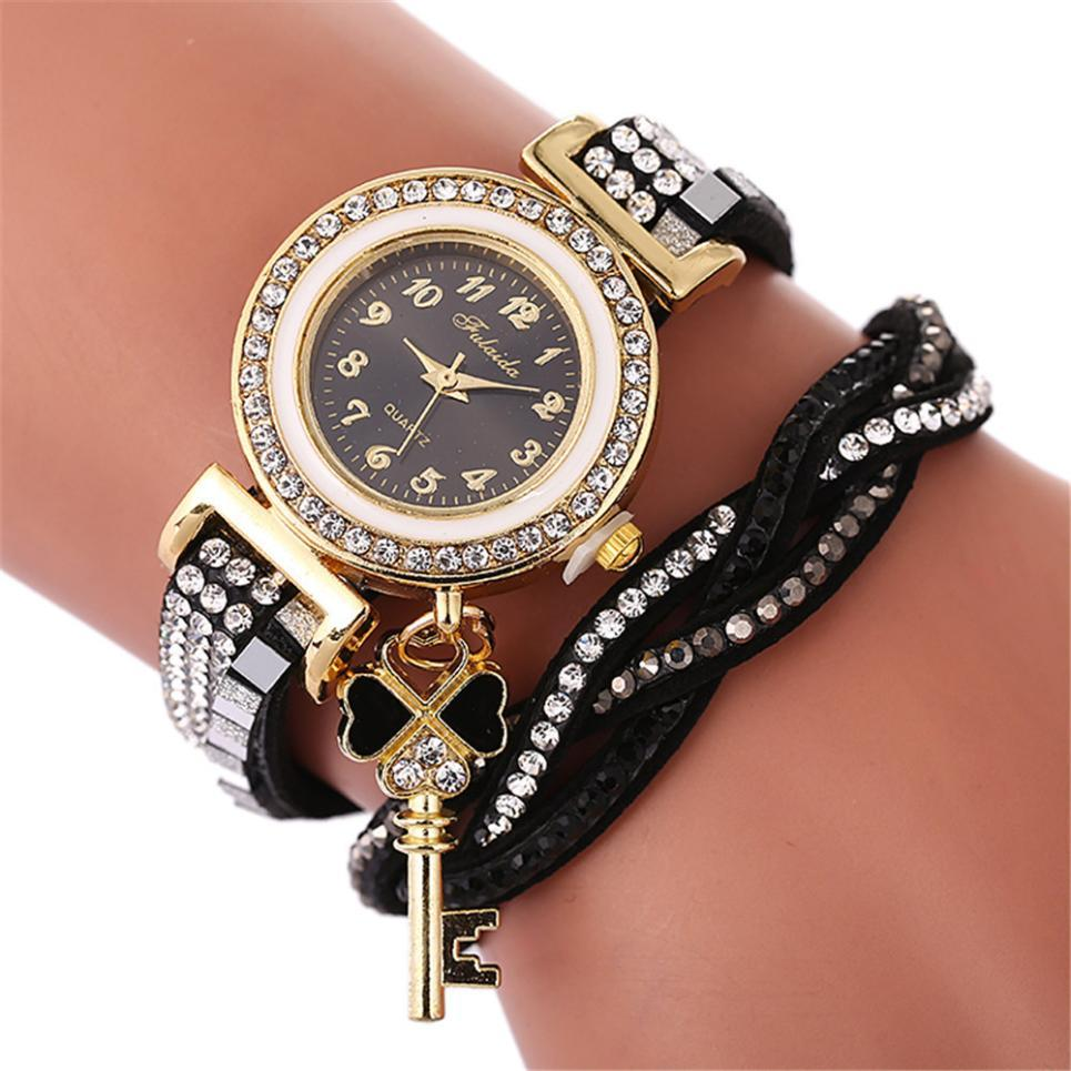 Women Watches New Beautiful Fashion Bracelet Watch Ladies Watch Round  Bracelet Reloj Mujer Bayan Kol Saati Ladies Clock Gold Watch Cool Watches  From ... 092910e99200