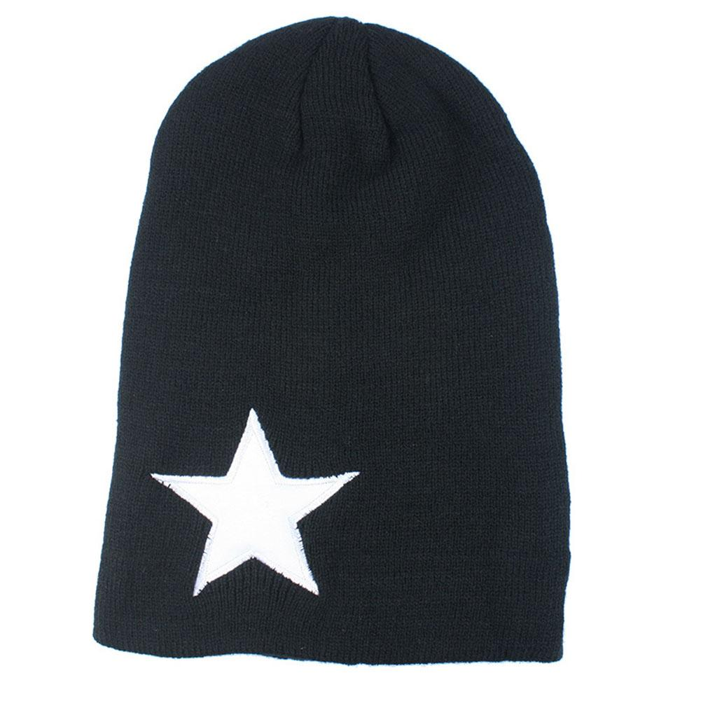 2018 Big Star Winter Hats Warm Fashion Knitting Cap For Woman Men ... d76373acd2c