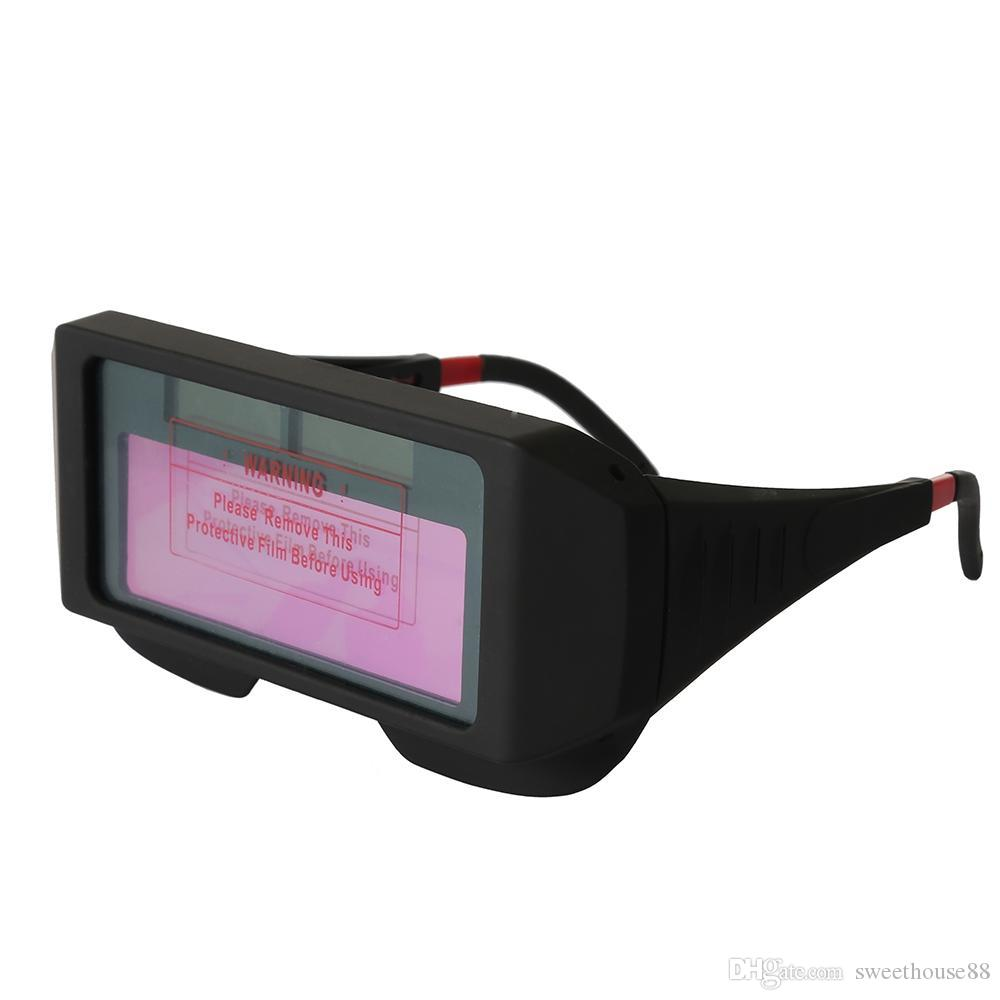 Anti-Ultraviolet Solar Powered Auto Darkening Welding Glasses Eye Protection Mayitr Equipment Anti-Glare Mask Helmet Welder