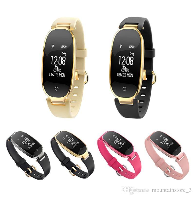 16ab76338 Original Bluetooth Waterproof S3 Smart Watch Fashion Women Ladies Heart  Rate Monitor Smartwatch Relogio Inteligente For Android IOS Reloj Smart  Watches Best ...
