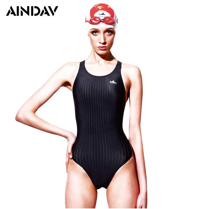 a5468013a558a 2019 Professional Arena Sports Swimwear Women One Piece Swimsuit Racerback  Monokini High Elastic Slim Bathing Suits Badpakken Vrouwen From Genguo