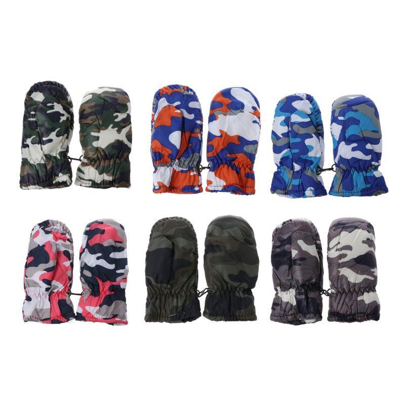 Mother & Kids Strong-Willed 2-5y Kids Winter Warm Gloves Children Boys Girls Snow Snowboard Ski Outdoor Gloves Waterproof Windproof