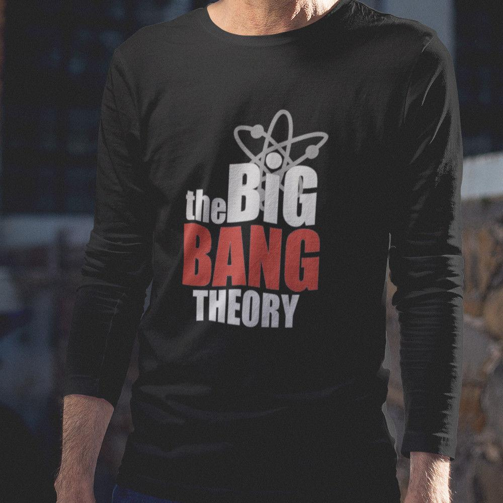 63bd375c2d62 New The Big Bang Theory Long Sleeve Black T Shirt Size XS 2XL Mens Formal  Shirts Buy T Shirts Online From Banwanyue10, $15.33| DHgate.Com