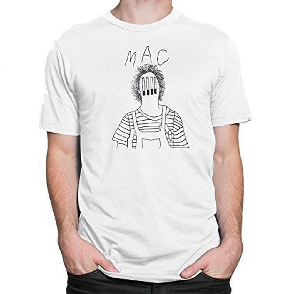40bb3a36f Mac DeMarco Cigarette Face Mens Graphic Tee White T Shirt S XXL Clever Tee  Shirts Now T Shirts From Bstdhgate03, $11.01| DHgate.Com