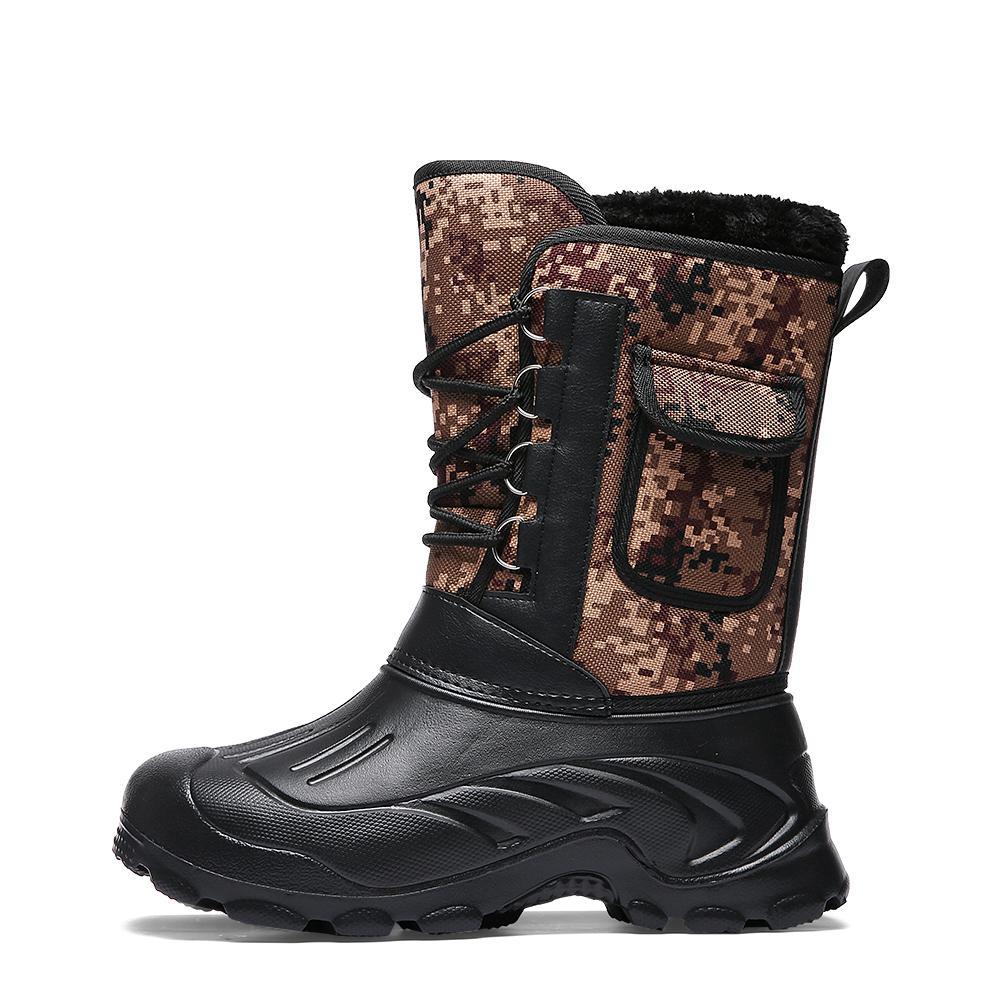 af27bd6afa7254 Großhandel Männer Winter Warme Stiefel Leder Outdoor Armee Stiefel Sichere  Schuhe Bot Hohe Qualität Dr Martins Plus Große Größe 40 46 Zapatos De  Hombre Von ...