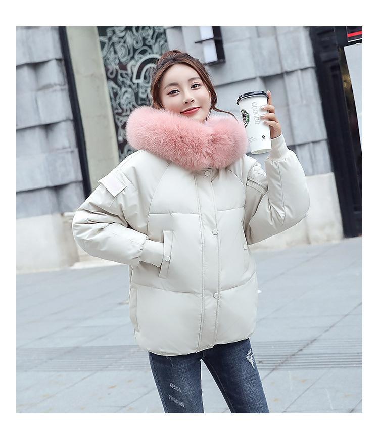 f21449eb0c260 2018 Fashion Winter Jacket Women s Harajuku Style And Short ...