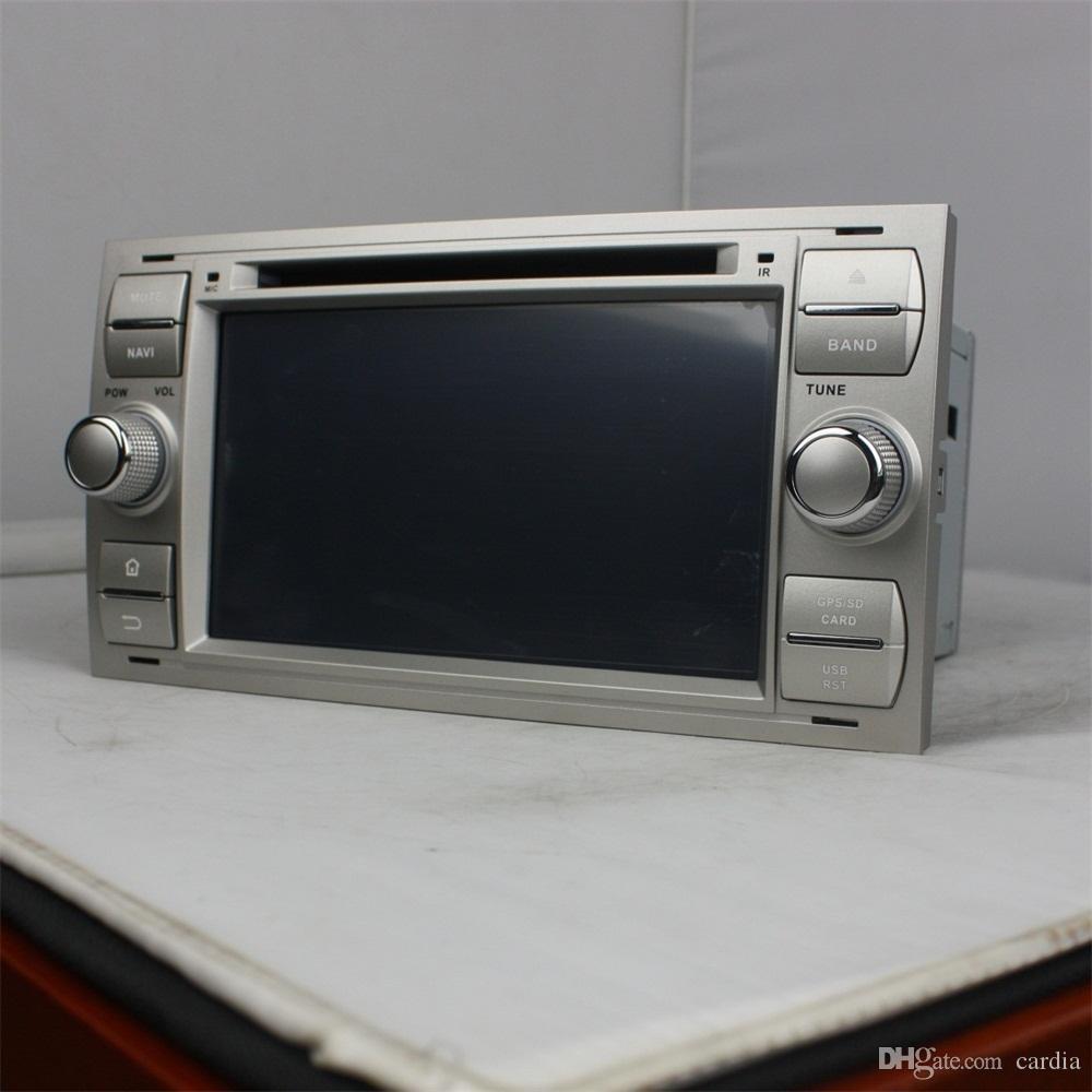 Reproductor de DVD para automóvil Andriod 6.0 de 7 pulgadas para Ford FOCUS Mondeo con GPS, Bluetooth, radio, control del volante