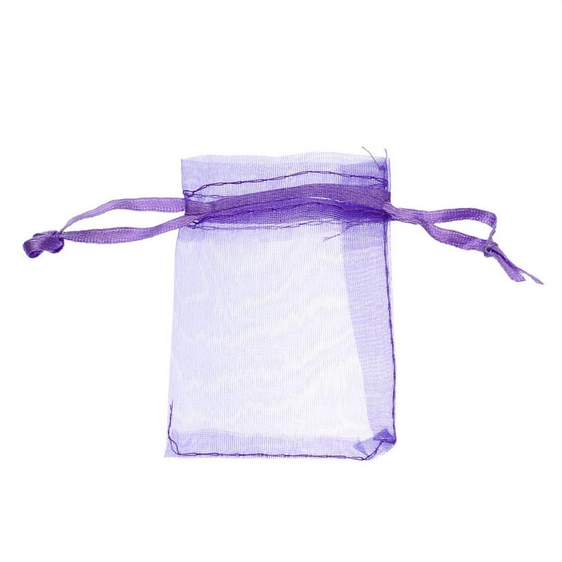LASPERAL Multi Color Little Organza Sacos De Presente Oganza Com Cordão Bolsa Para Embalagem De Jóias Saco De Envoltório De Armazenamento De Presente 5x7 cm