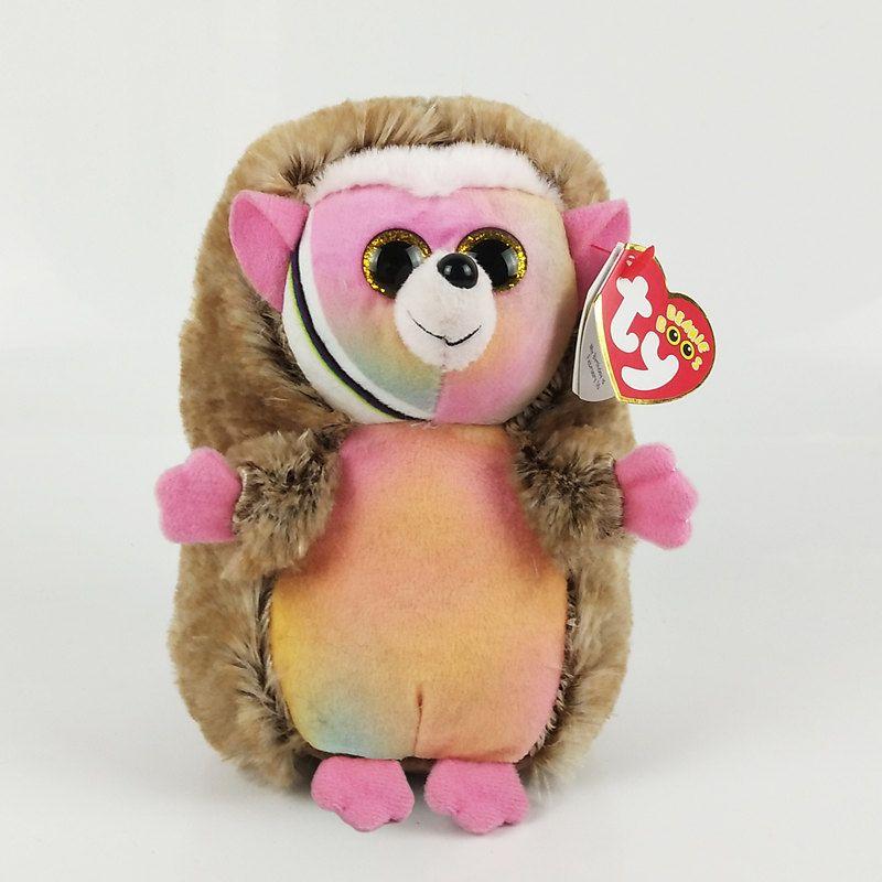 2019 6 15cm Pinecone Hedgehog Plush Medium Soft Big Eyed Stuffed