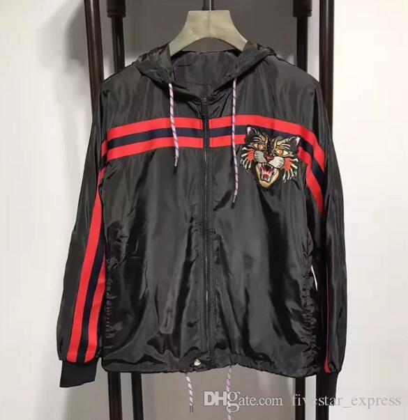dcbcbb8ba Offer Italia Jacket High Quality Autumn Men Leopard Print Jumper Trench  Coats Outwear Windbreaker Long Sleeve Women Jackets Black