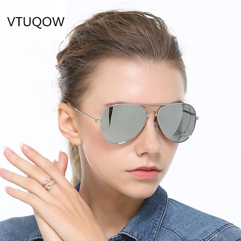 e7ed8849e6bb3 Compre 2019 Moda Piloto Óculos De Sol Das Mulheres Dos Homens Designer De  Marca Lente Polarizada Duplo Círculo Condução Óculos De Sol Das Mulheres  Dos ...