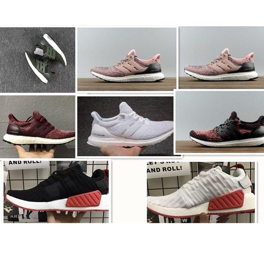 pretty nice 2abb6 c896e Acheter 2018 Ultraboost 3.0 Uncaged Chaussures De Course Hommes Ultra Boost  3.0 Iii Primeknit Courses Blanc Noir Chaussures De Sport Taille 40 45 De   34.47 ...
