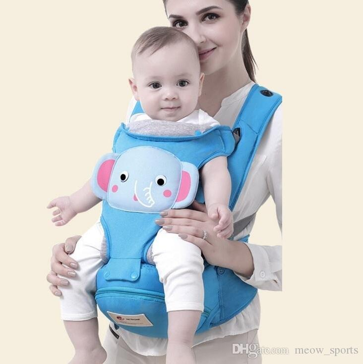 77e12f54b86 2019 3 36 Months Breathable Front Facing Baby Hipseat Carrier Infant  Comfortable Sling Backpack Pouch Wrap Baby Kangaroo From Meow sports