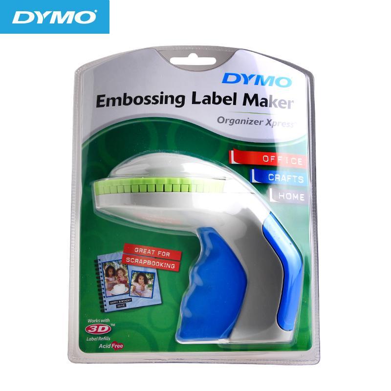 for DYMO label machine 12965 price machine DIY manual price lettering  concave convex 3D label printer Xpress