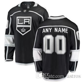 d7008bc43 2018 2018 Nhl Hockey Jerseys Cheap Custom Men S Los Angeles Kings Fanatics  Branded Black Home Breakaway Custom Jersey Store Usa Sports Jersey Ad From  Astros ...