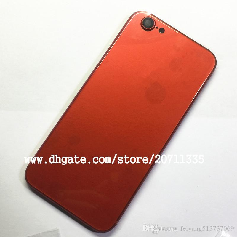 NEW For iPhone 6S Like 8 Style 8 PLUS Back Rear Cover Battery Housing Door Chassis Middle Frame