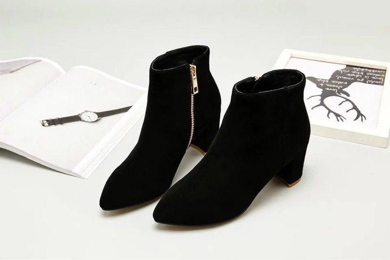 talon High pluie SNEAKERS habillées court botte BOTTES chaussures bottines BOOTIES Niu argent New de Jing équitation femmes vnw08Nm