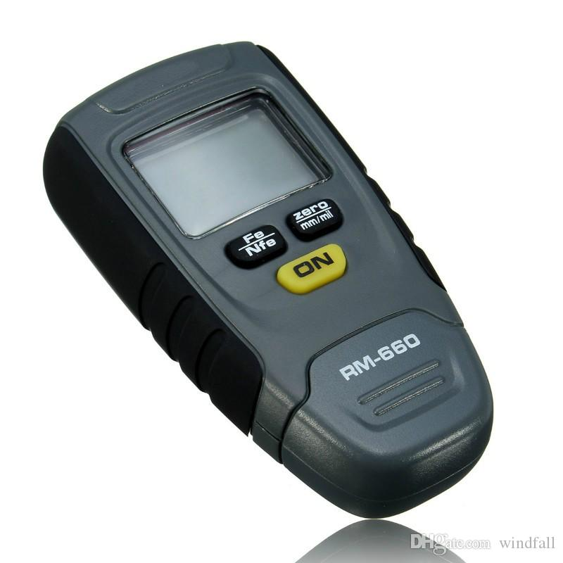 UK/_ GM200A Portable Metal Surface Car Paint Coating Thickness Gauge Tester Meter