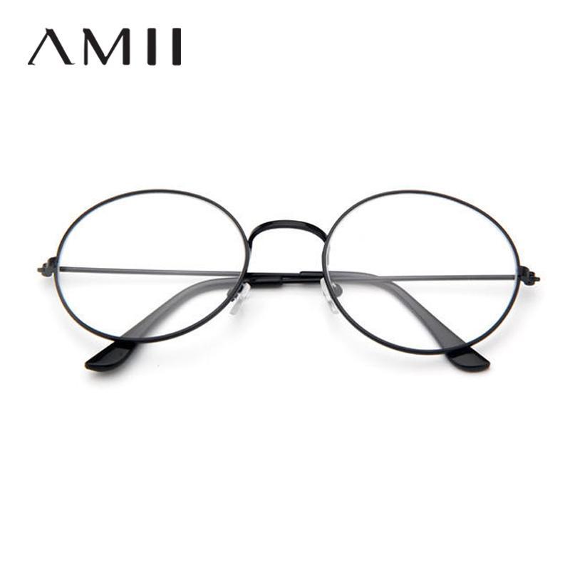 67da584d17 2019 Unisex Gold Gound Metal Frame Glasses Cheap Small Round Nerd Glasses  Clear Lens Optical Men Women Black Frame Uv400 NE52 From Haydene