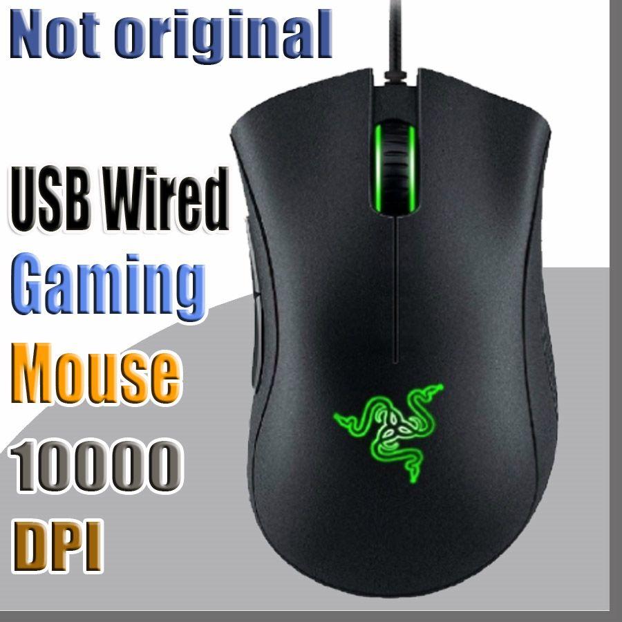 636f679e169 Compre Não Original Razer Deathadder Chroma USB Com Fio De Jogos De  Computador Óptico Rato Gaming Rato Deathadder 10000 Dpi Rato Do Sensor  Óptico De ...