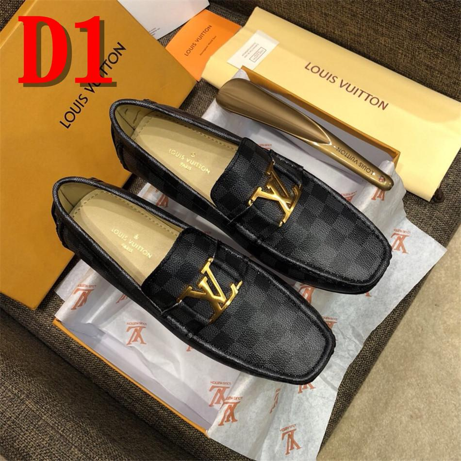 461249028d3678 Spring Autumn Fashion Mens Slip On Casual Shoes Genuine Leather Pattern  Male Breathable Flat Driving Shoes With Original Box Mens Slippers Footwear  From ...