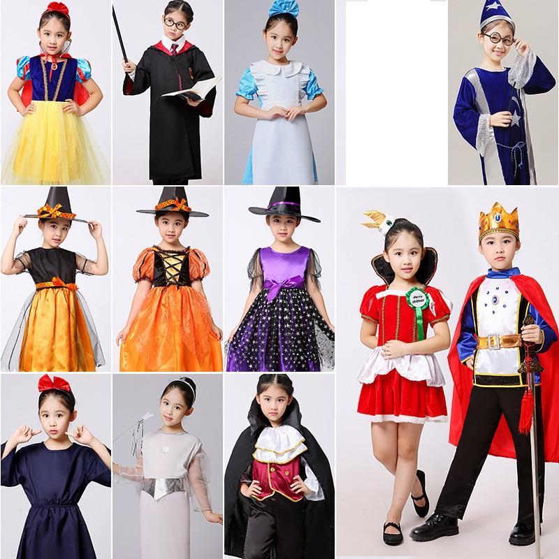 f2711843dab3d Acheter Costume D halloween Pour Enfants Sorcière Vampire Costumes De  Carnaval Pour Enfants Filles Princesse Enfants Enfant Cosplay Déguisements  De Noël De ...