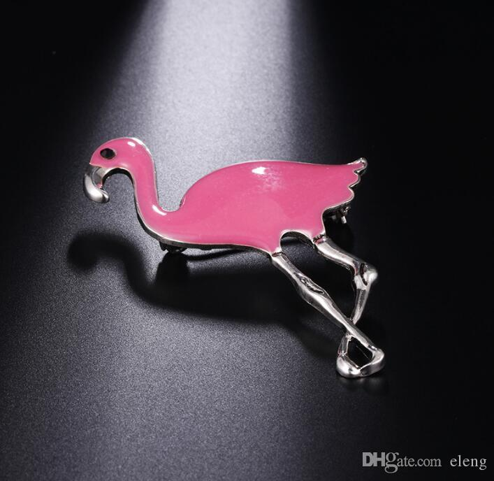 2018 United States Cute girl diamond An ostrich Brooch brooches rhinestone Clothing accessories Pins Party Prom Women pin 53