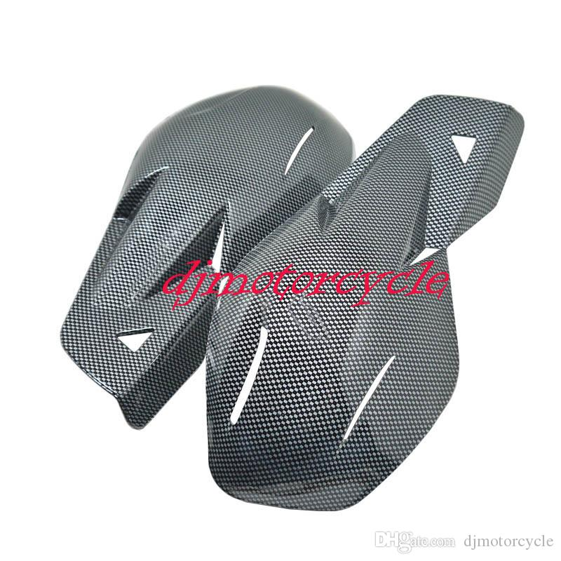 22mm Universal Motorcycle Handguards Handlebar Brush Hand Guard Protectors Motocross Dirt Pit Bike ATV Quad Off Road