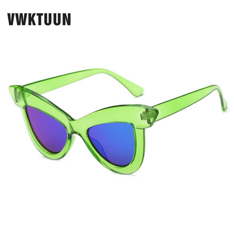 6941e0df5f Compre VWKTUUN Gafas De Sol Mujer Gafas De Sol Vintage Cateye Gafas De Sol  Gafas De Sol Gran Marco UV400 Mujeres Gafas De Sol De Gran Tamaño A $35.25  Del ...