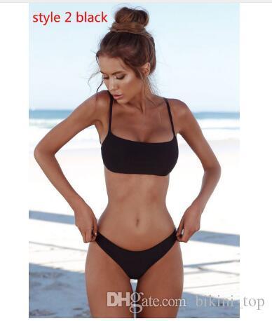 1c64e87610ecd 2019 Summer Trendy Sexy Women Swimwear Bandage Bikini Beach Parties Set  Push Up Padded Bra Bathing Suit Swimsuit Bikini Suit S XL From Bikini_top,  ...