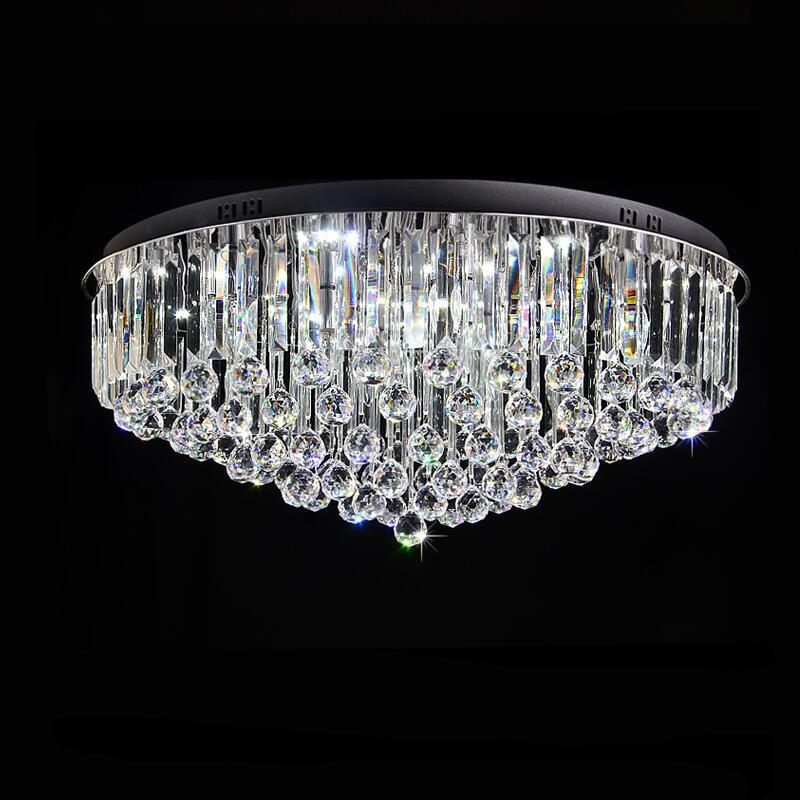 Großhandel Moderne Fernbedienung Kristall Deckenleuchte LED Lampen ...