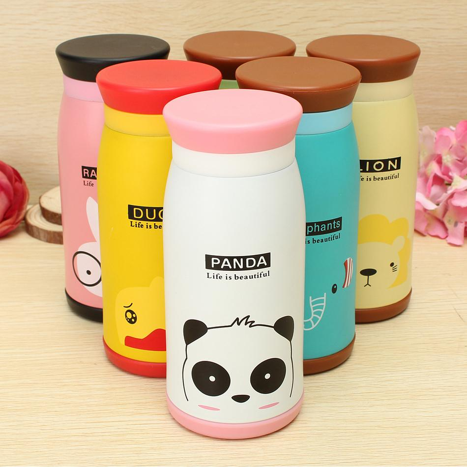 500ml Child Kids Outdoor Camping Sports Bottle Cute Cartoon Animal Water Bottles