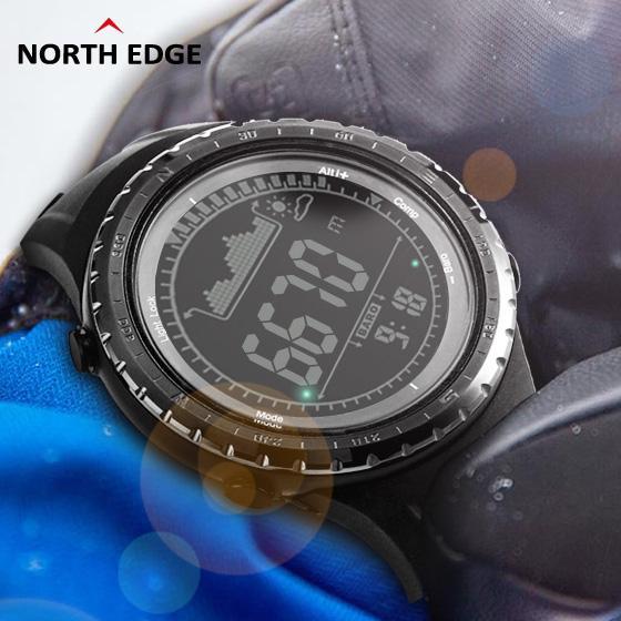6fce45944d8f Compre Deporte Para Hombre Reloj Digital Horas De Funcionamiento Relojes  Para Natación Altímetro Barómetro Brújula Termómetro Tiempo Podómetro Reloj  Digital ...