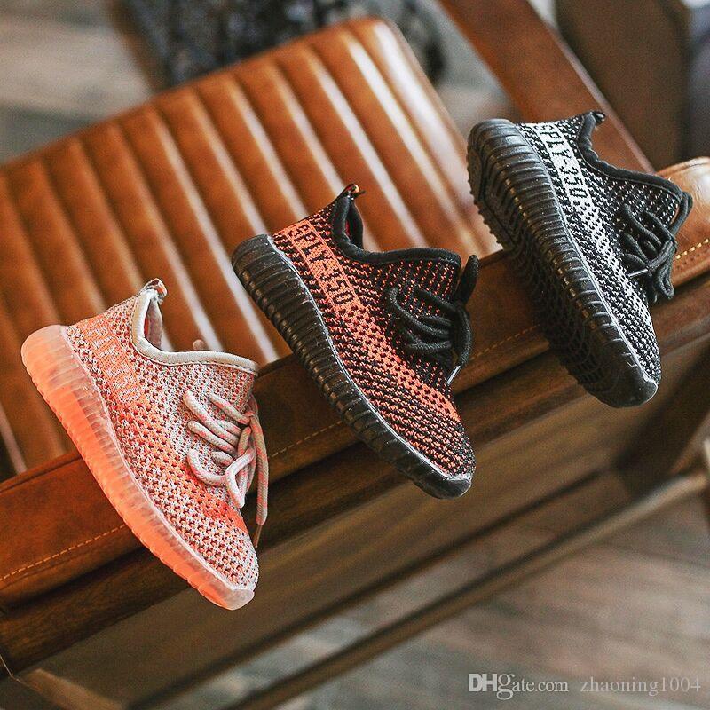 35d5c1f12 Designer Brand Kids Sandals Shoes Baby Toddler Run Shoes Kanye West ...