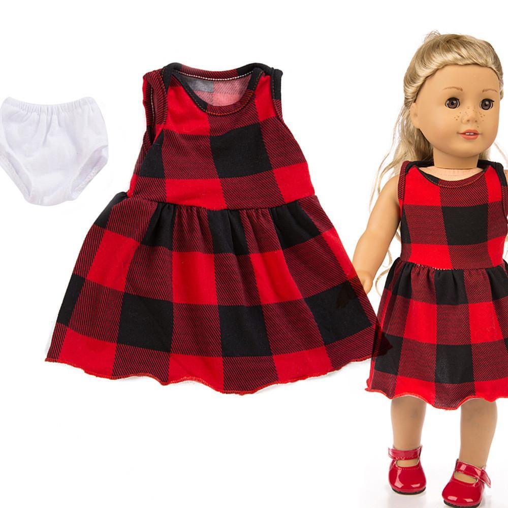 eed605415cff Acquista Vestiti Bambola Bellissimo Vestito 18 Pollici American Girl Doll  Accessorio Girl s Toy Baby Born Accessori Giocattoli Girls A  33.29 Dal  Jasmineer ...