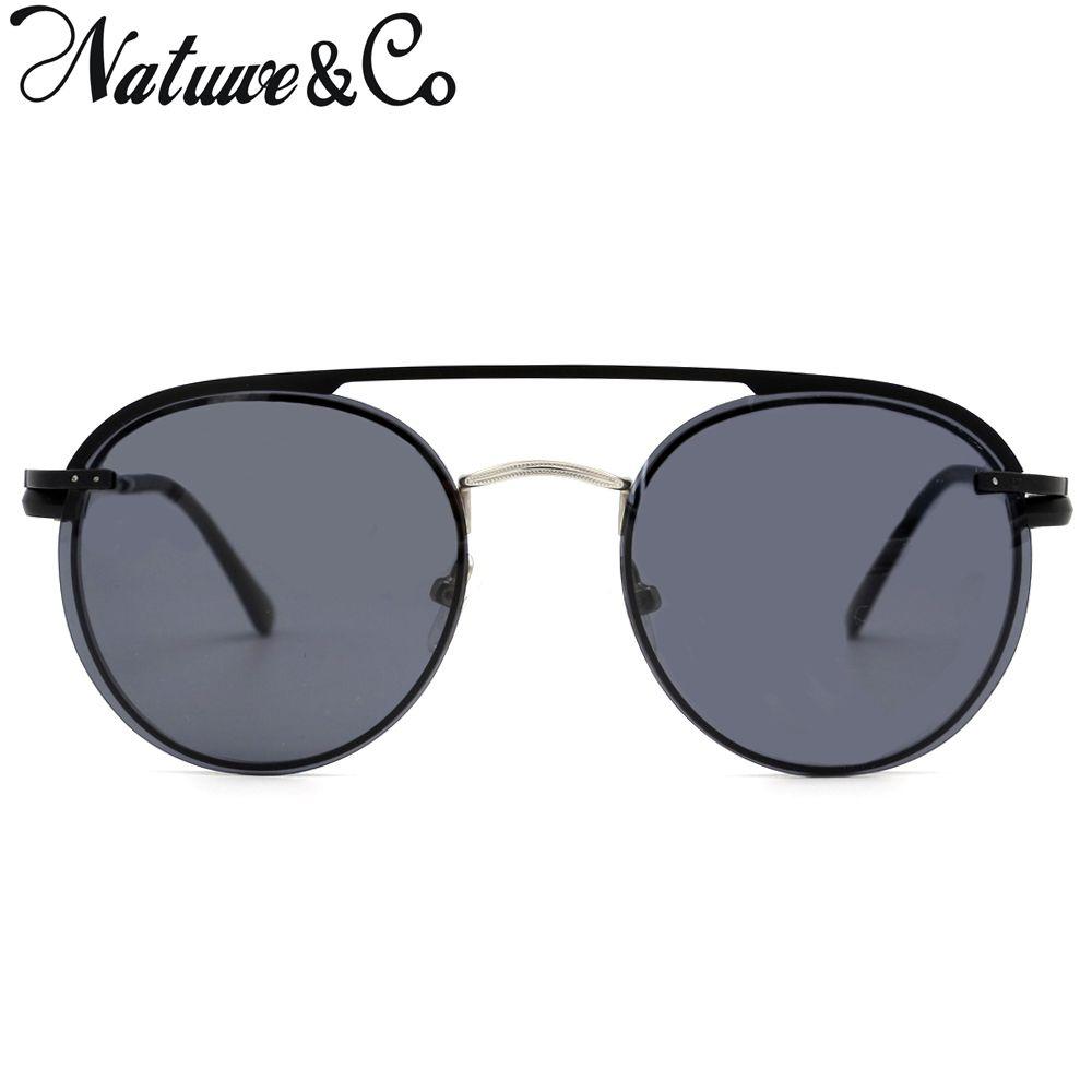 e9ea5947ec9 Natuwe Co Designer Magnetic Lens Clip On Sunglasses Men Polarized Women  Retro Round Metal Glasses 3042 Baseball Sunglasses John Lennon Sunglasses  From ...