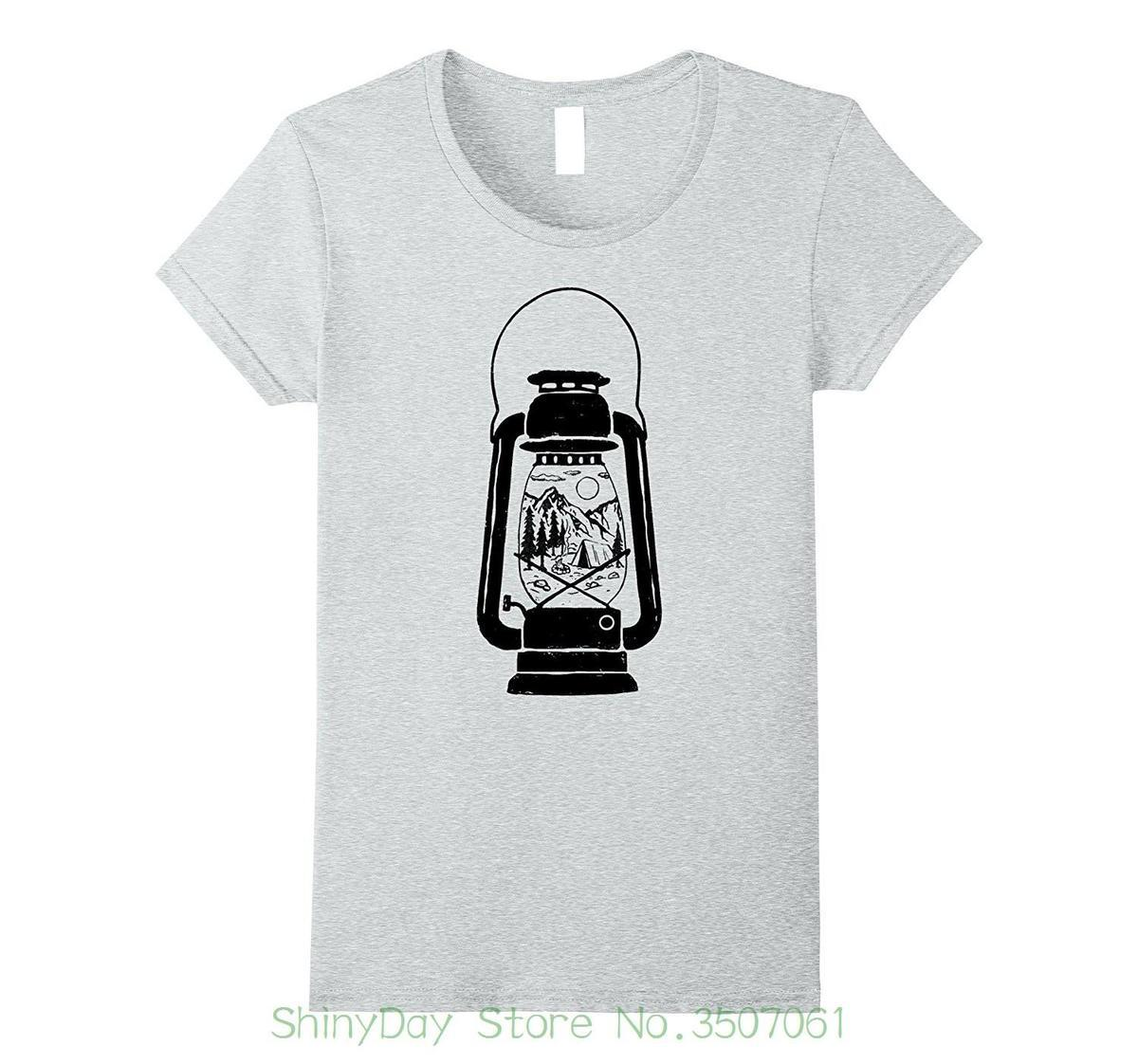 83c9474fb065 Cotton T Shirt Fashion Campings Lantern Great Outdoors Vintage Graphic T  Shirt Great Tee Shirts Cool Tee Shirt From Lijian57