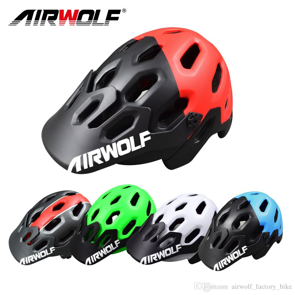 Airwolf Men Women Bike Helmet Ultralight only 388g Bicycle Helmets 56-62cm Mountain Road Bike Cycling Helmets