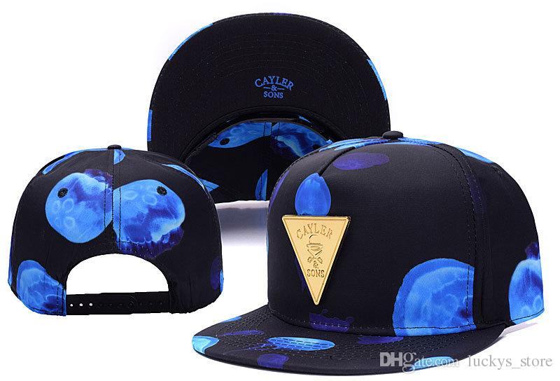Cayler Sons New snapbacks berretto da baseball di Brooklyn cappelli top Snap back Baseball football basket personalizzato Cappellini taglia regolabile drop shipping