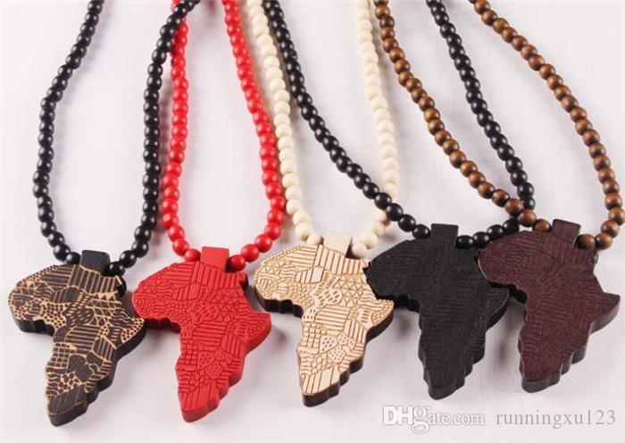 Wholesale fashion wood made stylish africa map pendant hip hop beads wholesale fashion wood made stylish africa map pendant hip hop beads long chain men wooden pendants necklaces jewelry gift r106 mens pendants for necklaces aloadofball Image collections