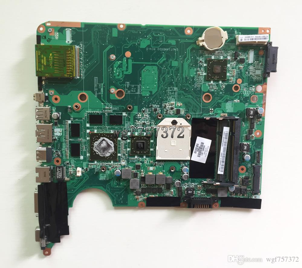 For HP Pavilion DV6 DV6-1000 DV6-1200 509450-001 AMD Laptop Motherboard DAUT1AMB6D0 DDR2 ATI HD4650 Notebook Systemboard