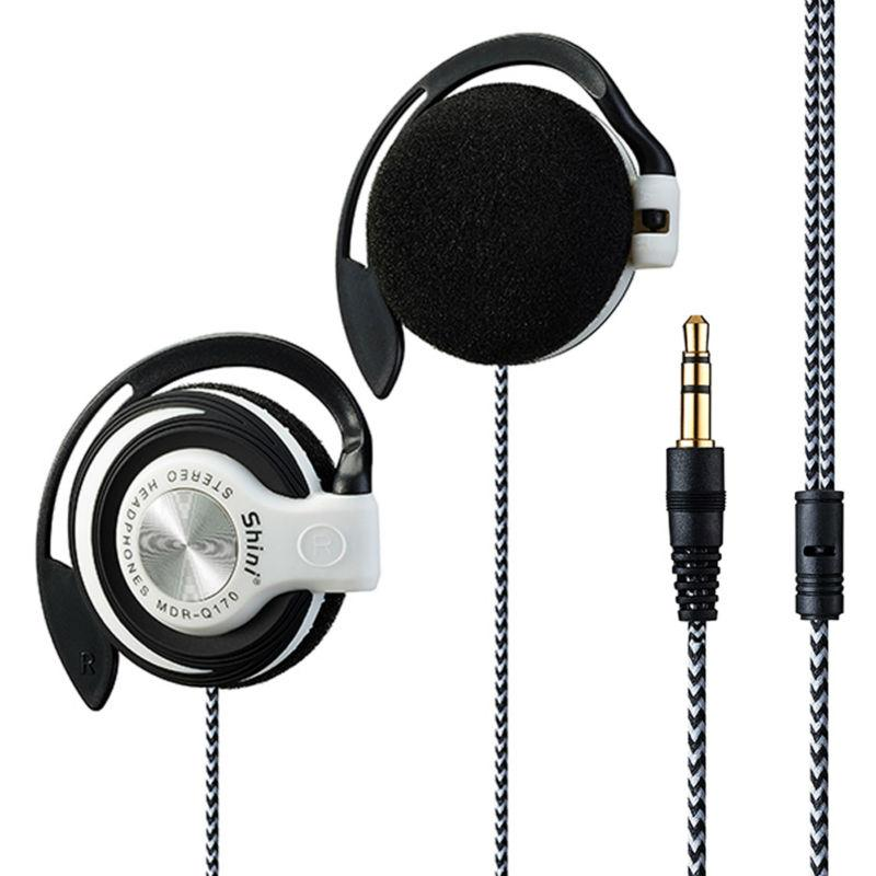 Shini Q170 Headphones 35mm Headset EarHook Earphone For Mp3 Player Computer Mobile Telephone Wholesale 50 Cent Best Earbuds Under