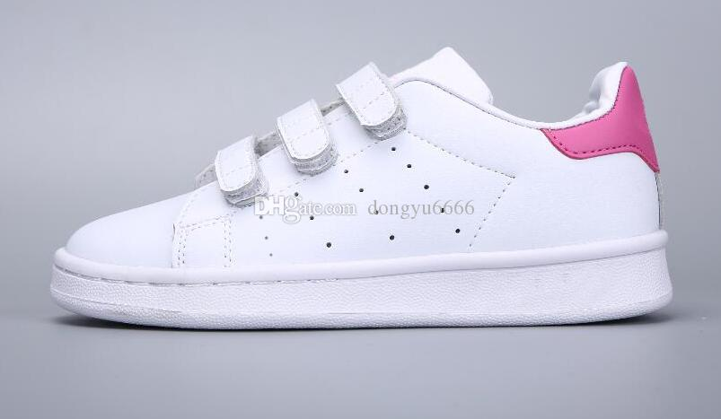 bas prix 298f5 1eb28 Adidas Stan Smith Superstar Enfants Printemps Superstar Chaussures Mode  Fille causales Chaussures Super Star Boy Courir Chaussures Sport Chaussures  ...