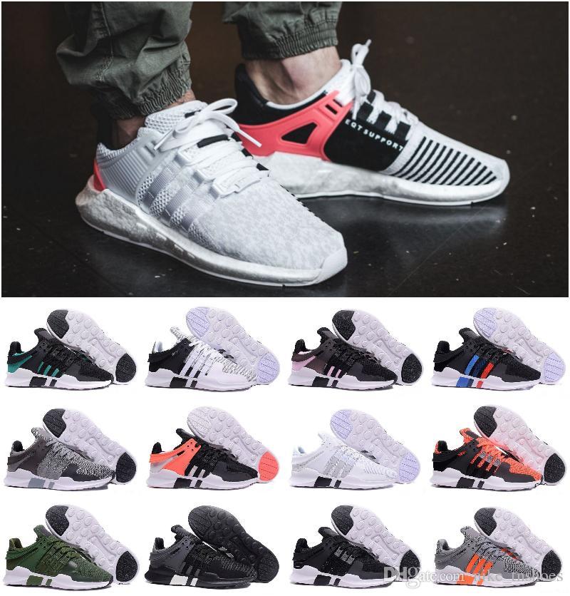 premium selection f3f5c da4c9 Originals 2019 NEW Arrival Ultra Boost EQT Support Future Boost 93 17 White  Black Pink Man women Sport Shoes Sneakers Designer Luxury ShOes