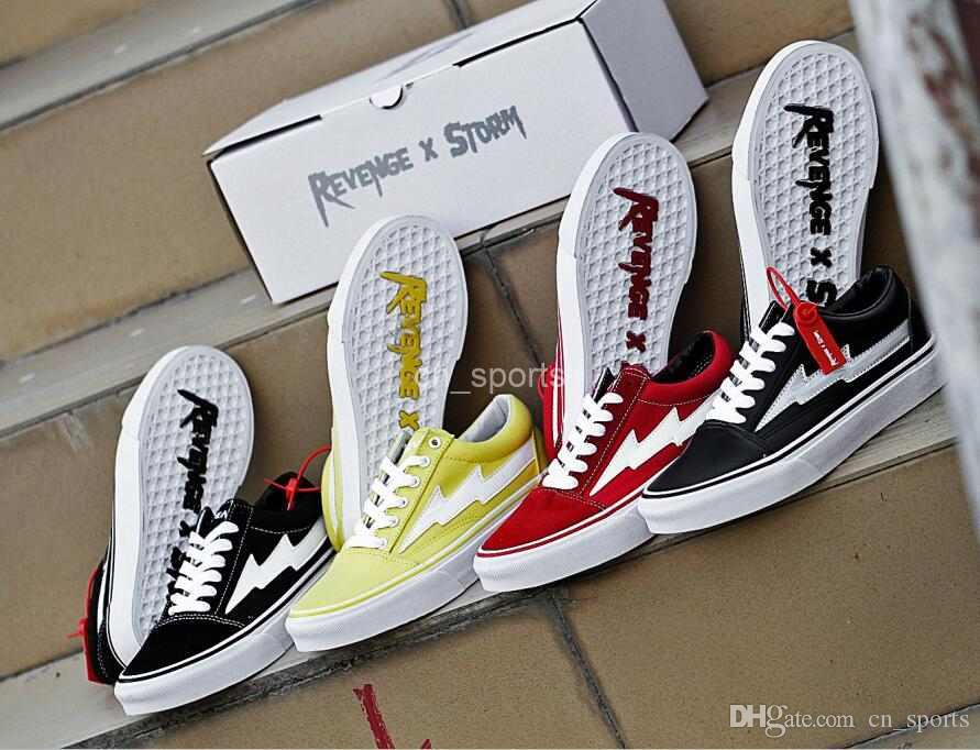 d252eb5151db 2018 New Revenge X Storm Old Skool Training Sneakers Wholesale Black ...