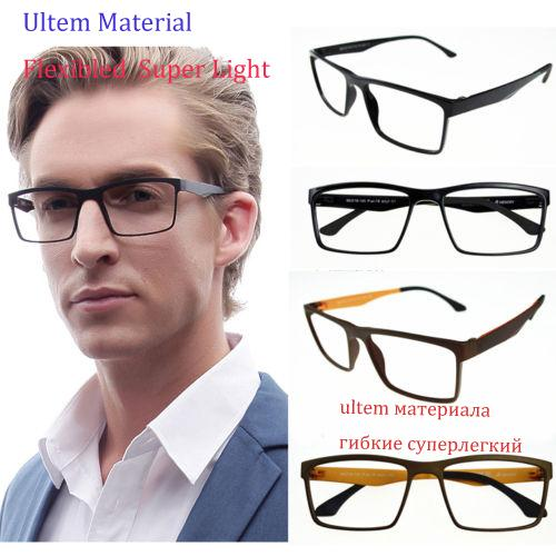 9101bc5f19b ULTEM Men s Flexibled Myopia Glasses Optical Prescription Eyeglasses Frame  Eyewear Rx Pac-18 Glasses Optical Myopia Glasses Eyeglass Frames Online  with ...