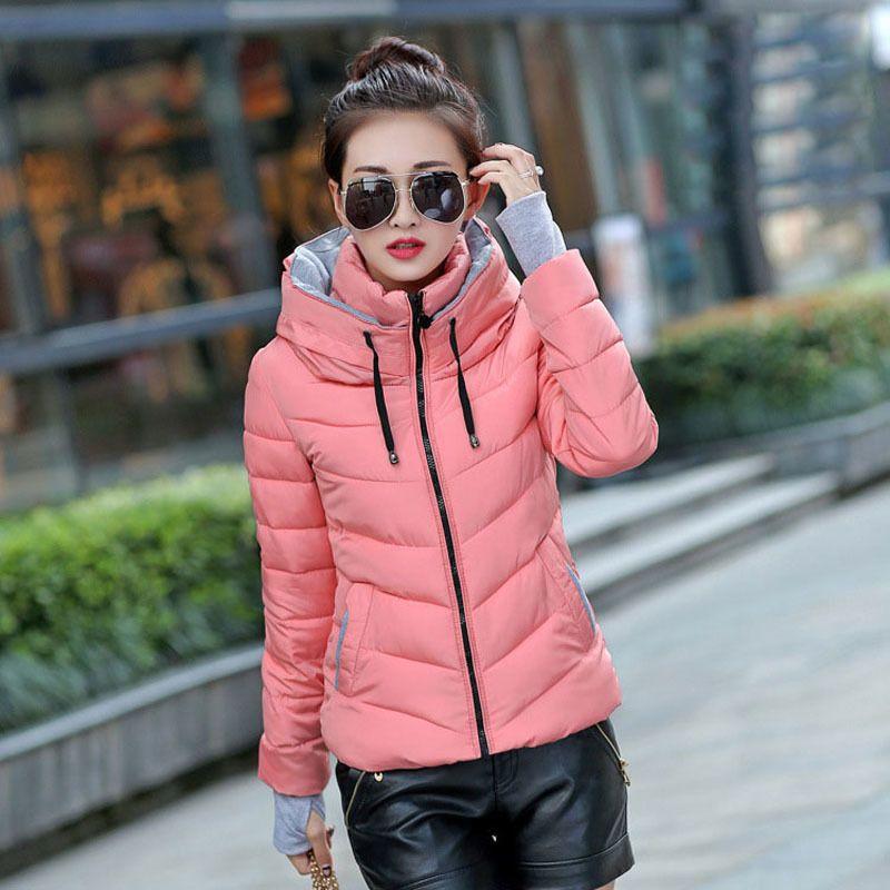 Manteau col montant mode femme