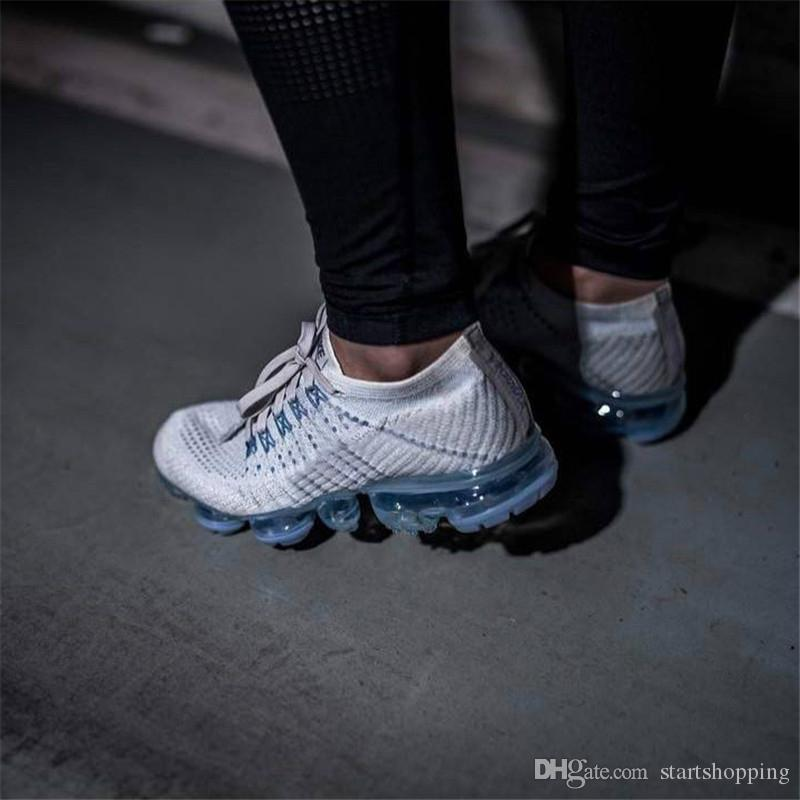 HOT SALE 2018 New Vapormax Rainbow BE TRUE Gold Black Pink Women Men Designer Running Shoes Sneakers Best clearance marketable TXeDwNb