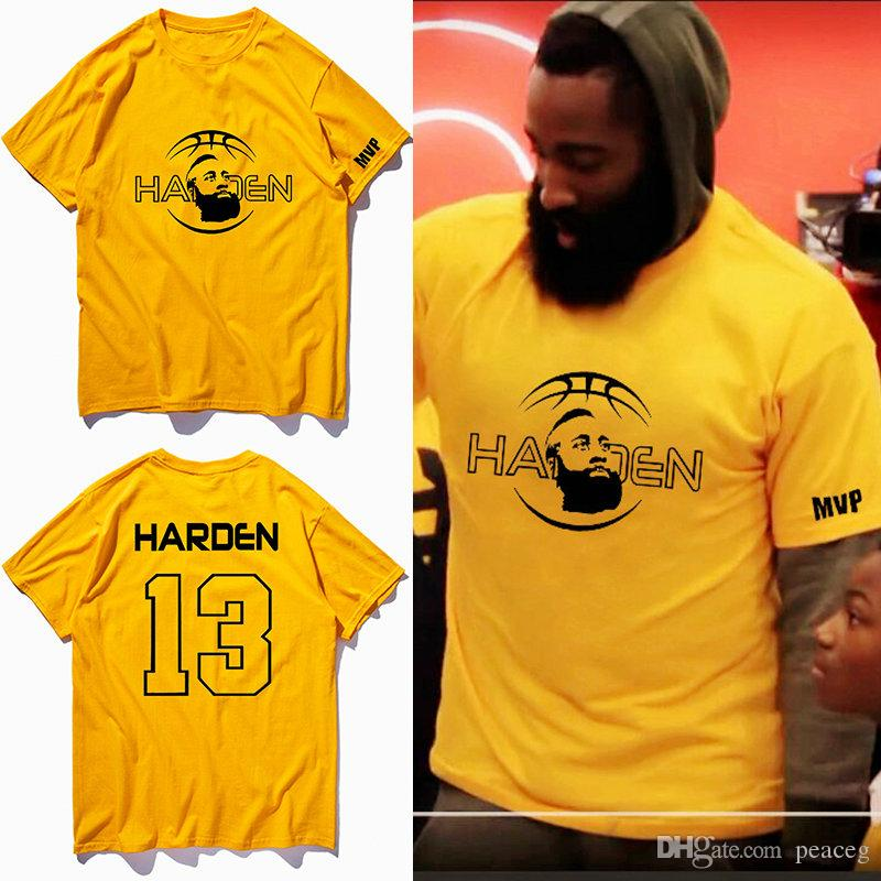 3c250009c433 New King T Shirt James Harden Short Sleeve Basketball Sport Design Tees  Leisure Unisex Clothing Quality Cotton Tshirt Canada 2019 From Peaceg