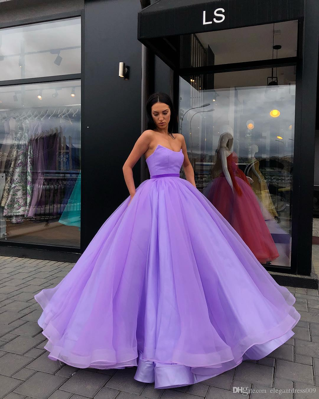 Simple Colorful Sweet 16 Ball Gown Quinceanera Dresses 2018 ...